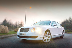 Bentley Flying Spur - White