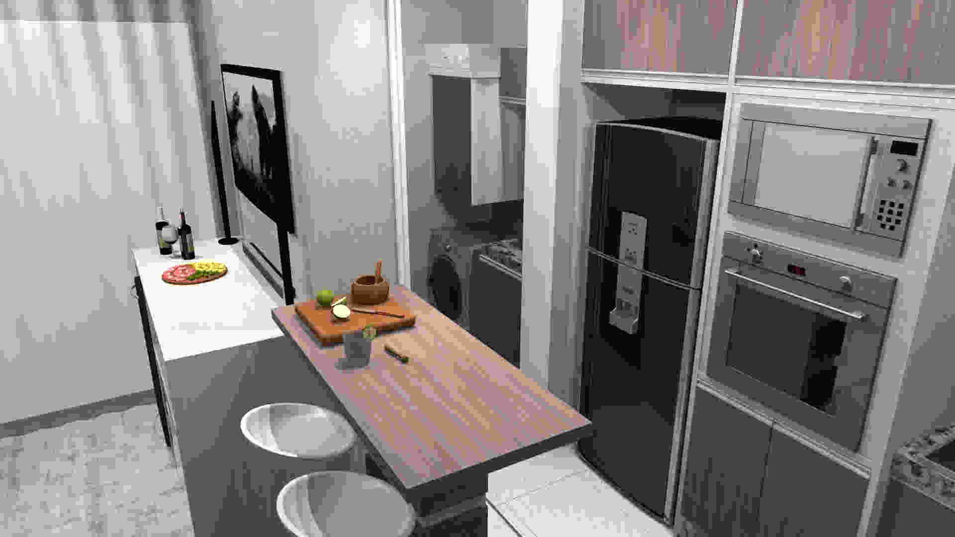 Cozinha Pequena Falta Espa O Dicas Incriveis Para Voce Organizar A