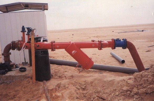 Meconic filters in upper Egypt