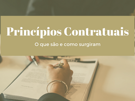 Do clássico ao contemporâneo: entenda o que são os Princípios Contratuais