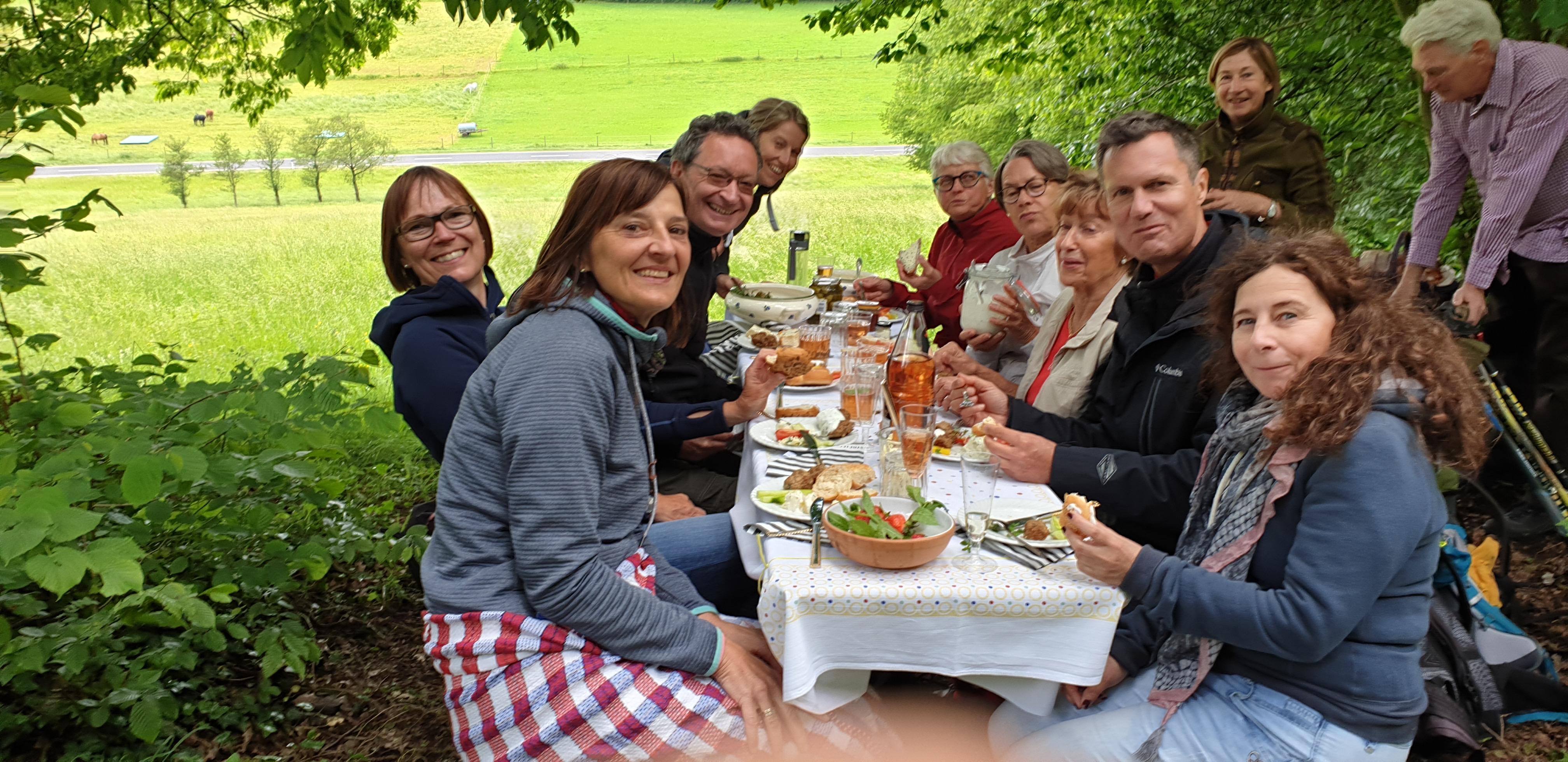 Picknick im Spessart