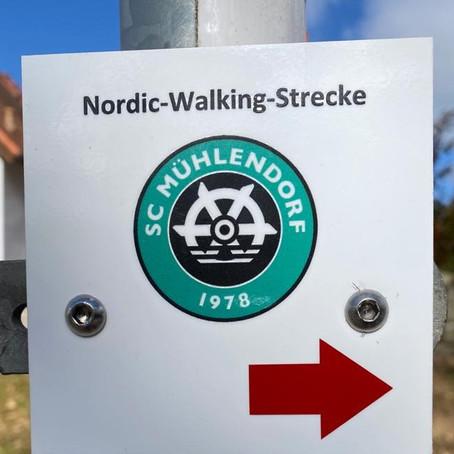 Unsere neuen Strecken für Nordic-Walking Gruppen sind nun offiziell genehmigt und fertiggestellt.