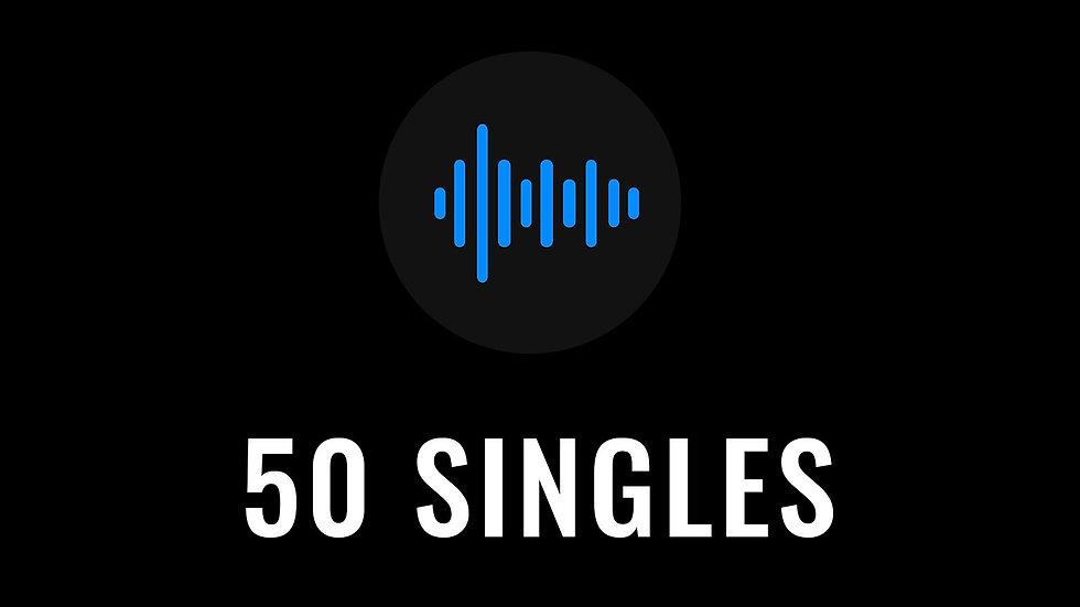 50 Single Song Credits