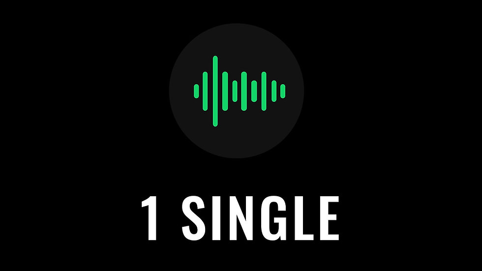 Single (up to 2 songs)