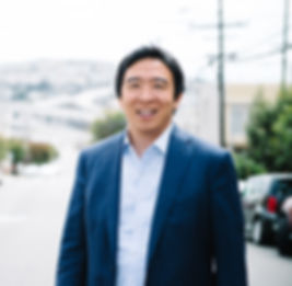 Andrew Yang - Official Campaign Headshot