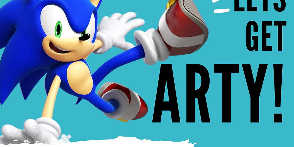 """ART SIPPERS KIDZ FREE LIVE EXPERIENCE SHOW - """"SONIC THE HEDGEHOG"""" 07/02/2021"""
