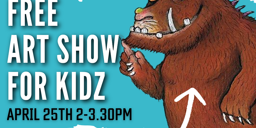 """ART SIPPERS KIDZ FREE LIVE EXPERIENCE SHOW - """"THE GRUFFALO"""" 25/04/2021   (1)"""