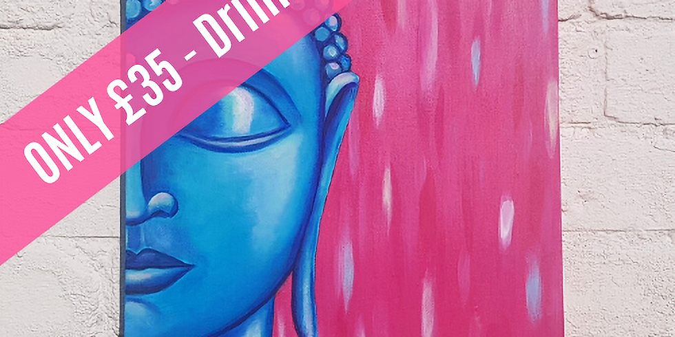 BLISSFUL BUDDHA *The Little Blue Door* - FULHAM *New Venue*
