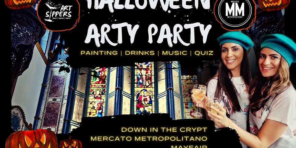 ART SIPPERS HALLOWEEN SPECIAL - IN-PERSON EVENT - 30/10/2021