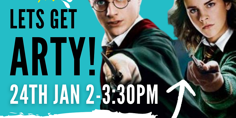 """ART SIPPERS KIDZ FREE LIVE EXPERIENCE SHOW - """"HARRY POTTER THEME""""  24/01/2021"""