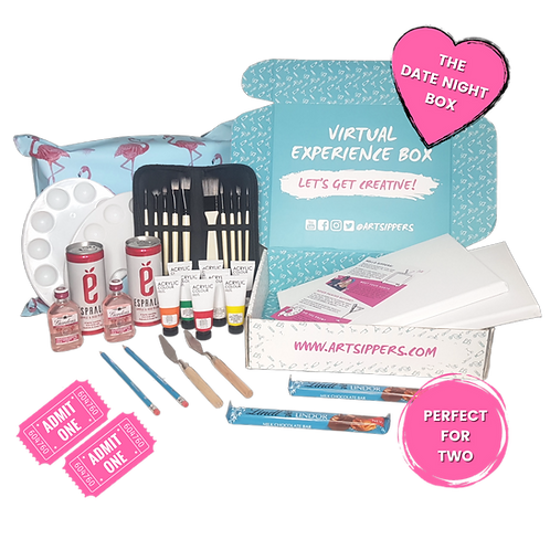 'THE DATE NIGHT' VIRTUAL EXPERIENCE BOX (includes event ticket worth £9.99)