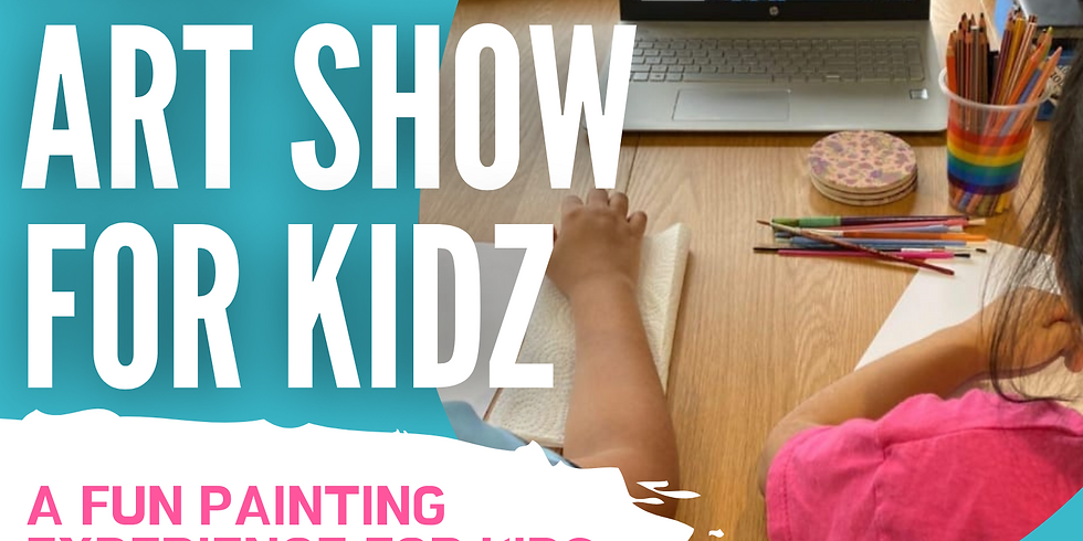"""ART SIPPERS KIDZ FREE LIVE EXPERIENCE SHOW - """"SURPRISE ARTWORK"""" 11/04/2021"""
