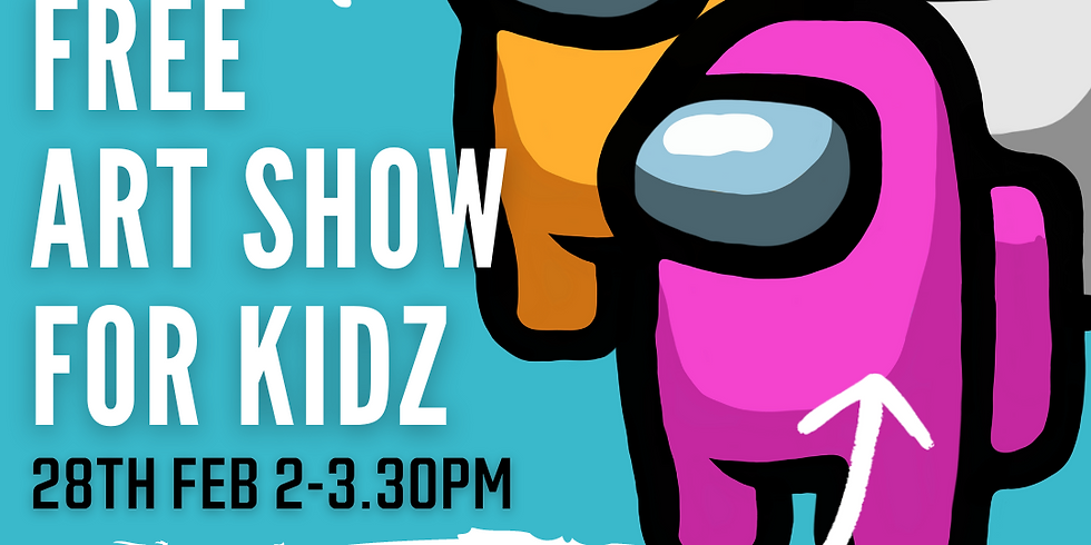 """ART SIPPERS KIDZ FREE LIVE EXPERIENCE SHOW - """"AMONG US"""" 28/02/2021"""