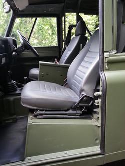 Ex Mod Land Rover 90 interior