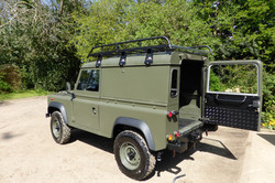 Ex Mod land Rover 90 Hard Top