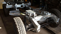Ex RAF Land Rover Series 3 Galvanised chassis