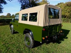 Ex Mod Land Rover 110 USA Mohair Canvas