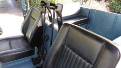 Ex Raf Land Rover Series 3 interior