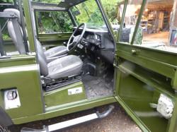 Ex Mod Land Rover 300TDI interior