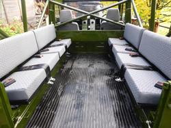 Ex Mod Land Rover 110 USA loading bay