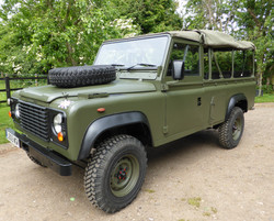 Ex Mod Land Rover 110 Soft Top