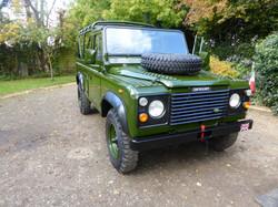 Ex Mod Land Rover 110 USA