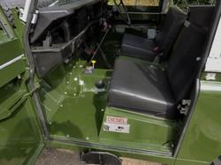 Ex Mod Land Rover Series 3 interior