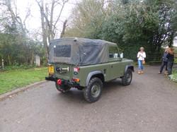 Ex Mod Land Rover 90