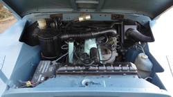 Ex Raf Land Rover Series 3 Engine Bay