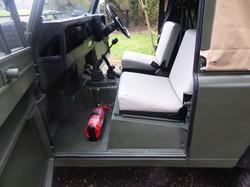 1986 Ex Mod Land Rover 90 interior