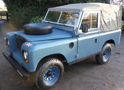 1985 Ex RAF Land Rover Series 3