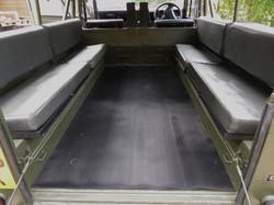 Ex Mod Land Rover 110 loading bay