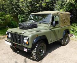 1986 Ex Mod Land Rover 90