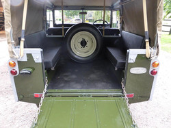 Land Rover Series 3 Loading Bay