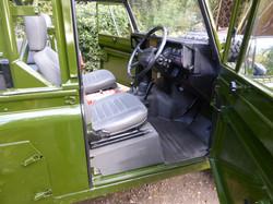 Ex Mod Land Rover 110 USA interior