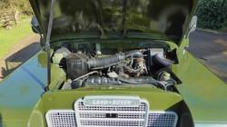 Land Rover Series 3 engine bay