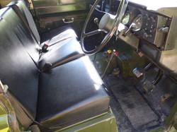 Land Rover Series 3 interior