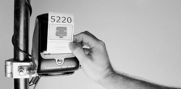MotoLister Automatic Label Printing