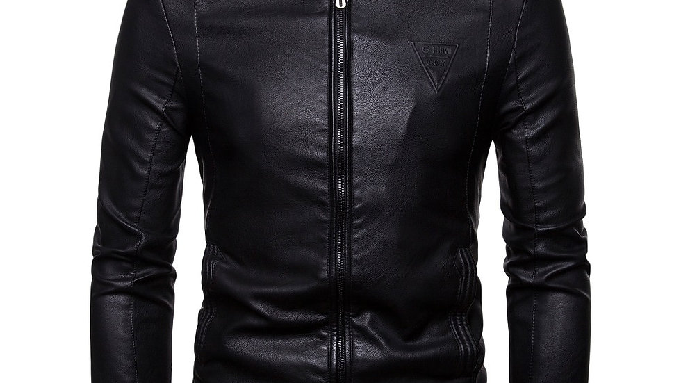 Factory Brand Men's Leather Jackets Coats Winter