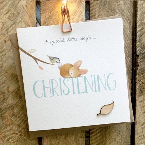 A Special Little Boy's Christening