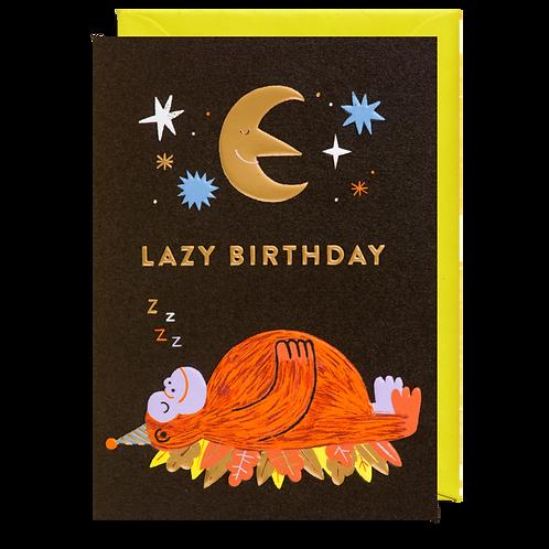 Lazy Birthday