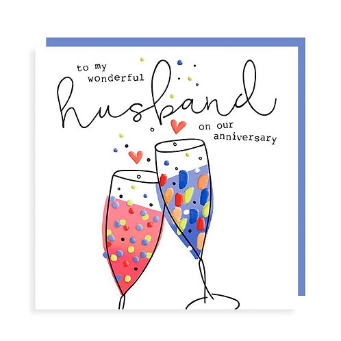 To A Wonderful Husband On Our Anniversary