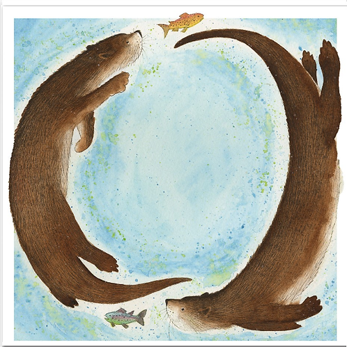 Frolocking Otters