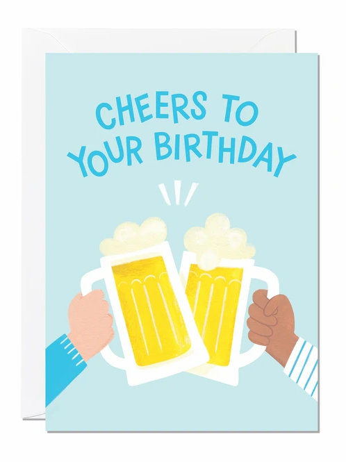 Cheers To Your Birthday