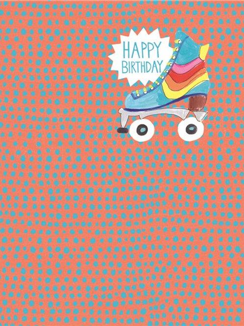 Happy Birthday Rollerskate