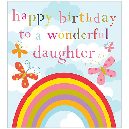 Happy Birthday To A Wonderful Daughter