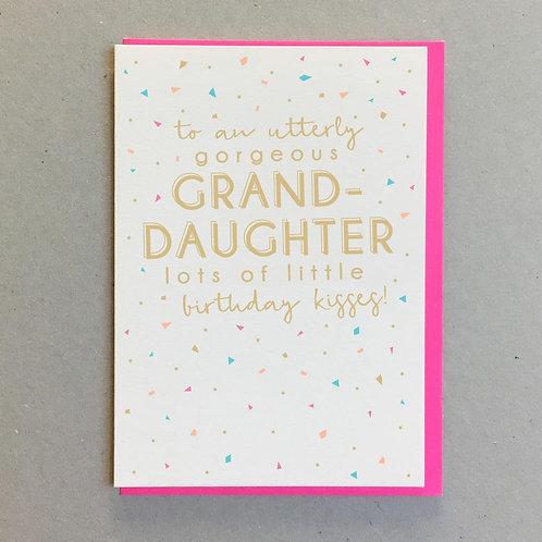 To An Utterly Gorgeous Granddaughter