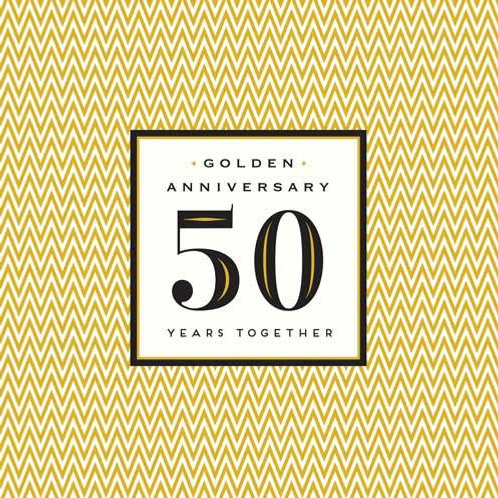 Golden Anniversary 50 Years Together
