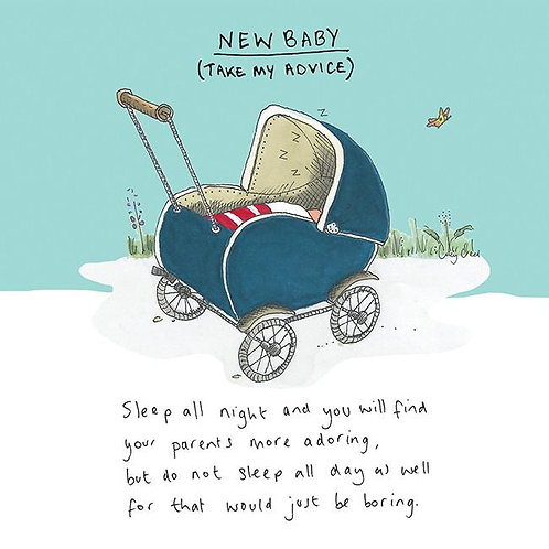 New Baby Take My Advice