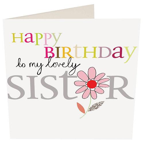 Happy Birthday To My Lovely Sister